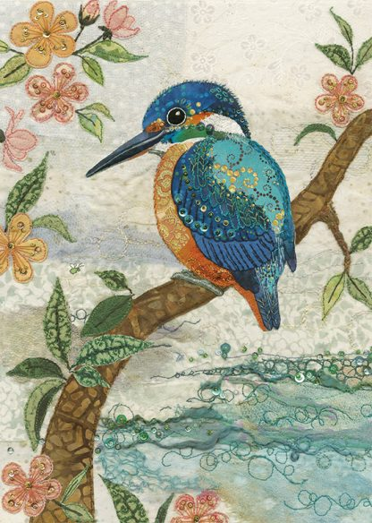 A039 Kingfisher bug art