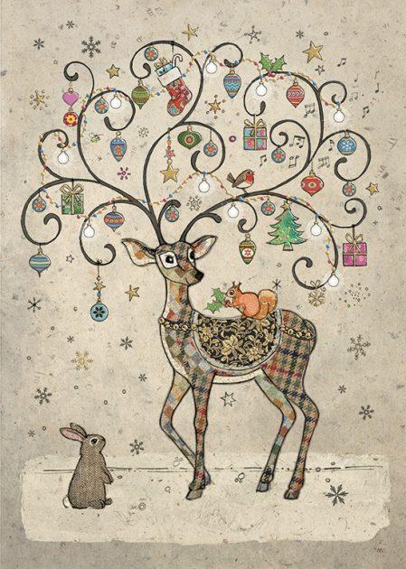 DC023 Decorated Deer