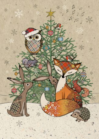 Christmas Art.Christmas Paper Foil Bug Art