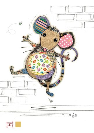 G019 Molly Mouse bug art greeting card