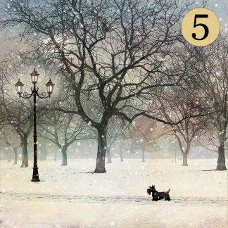 WCC041 Scottie Dog Five Pack
