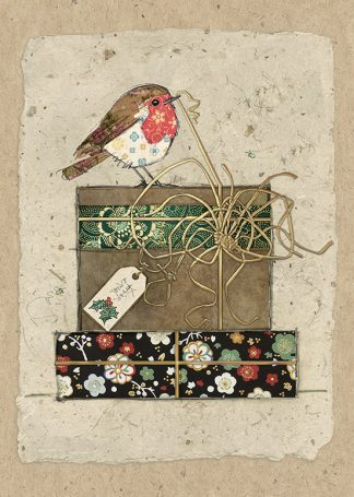 Bug Art dc021 Robin's Gifts greetings card