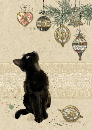 Bug Art dc022 Kitten Decorations greetings card