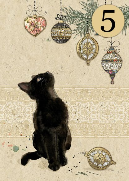 Bug Art DCC022 Kitten Decorations greeting card
