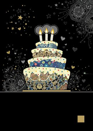 Bug Art m132 decorative cake greetings card